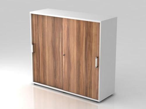 Hammerbacher armoire à portes coulissantes 3OH cE weiss/Zwetschge