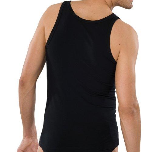 SCHIESSER Herren Achsel Shirt 95/5 205428 weiß (100)