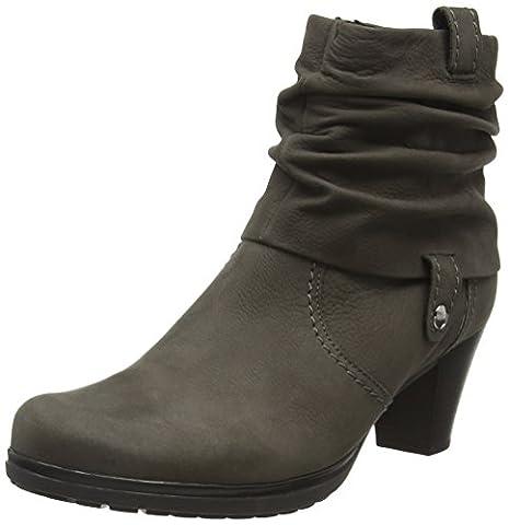 Gabor Shoes 56.083 Damen Kurzschaft Stiefel, Grau (anthrazit (micro) 30), 42 EU (8 Damen UK)