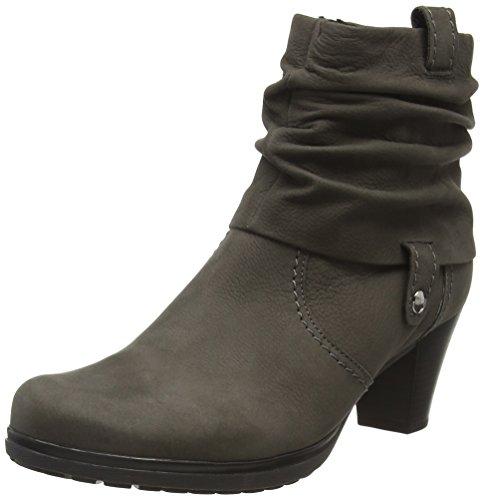 Gabor Shoes Comfort Basic, Stivaletti Donna, Grigio (Anthrazit Micro), 37 EU