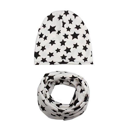Babybekleidung Hüte & Mützen Longra Hüte & Mützen Baby Longra Baby Mädchen Jungen Herbst Winter Hat Cap Kleinkind Kinder Hüte Schal Halsbänder(0-6Jahre) (H)
