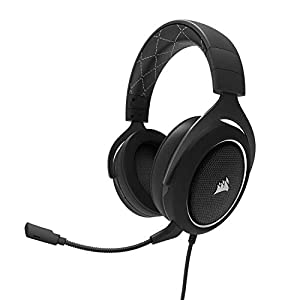Corsair HS60 Surround Gaming Headset (PC, Xbox One, PS4, Nintendo Switch) - White