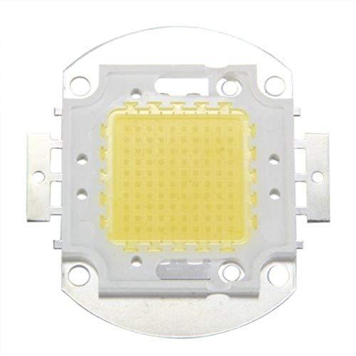REFURBISHHOUSE LED Chip 100W Weiss 7500LM Lampe Strahler Licht Birne High Power Integriert DIY (100 Watt Led-licht-lampe)