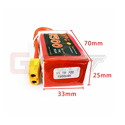 garttr-ypg-1500mah-70c-111v-3s-grade-a-lipo-battery-packs-for-rc-car-helicopter-airplanes-remote-con