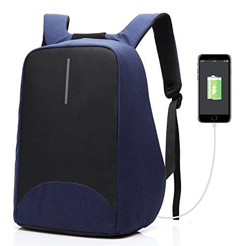 Coolbell Sac à Dos d'ordinateur Portable DE 15.6 Pouces avec Port USB de Charge/Sac Anti-vol Léger de Ville/Sac à Dos Fonctionnel Knapsack Backpack/Sa...