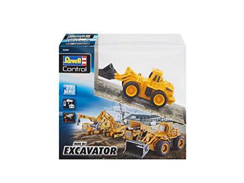 RC Baufahrzeug kaufen Baufahrzeug Bild 1: Revell Control 23494 RC Baufahrzeug Radlader, 27MHz, Akku ferngesteuertes Auto, gelb-orange, 12,5 cm*