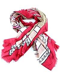 Amazon.it  foulard - Liu Jo Jeans   Sciarpe e stole   Accessori ... b6f02c4f49f