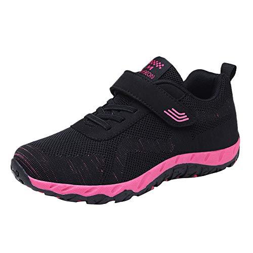 Makalon Mujeres Gimnasio Malla Transpirable Suaves Zapatillas De Deporte De Moda Joven Zapatos Cómodos...
