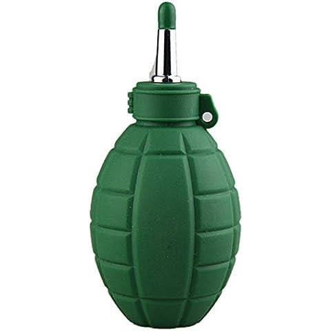 KooKen Fuerza de goma aire limpiar bomba con quitar polvo para objetivo de cámara - verde