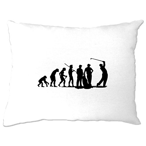 Evolution Of Golf Club Course, Eisen, Holz Course Neuheit Geburtstag Kissenbezuge (Billig Golf-fahrer)
