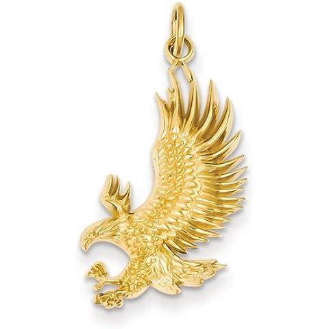 Icecarats Designer Di Gioielli 14K American Bald Fascino Eagle