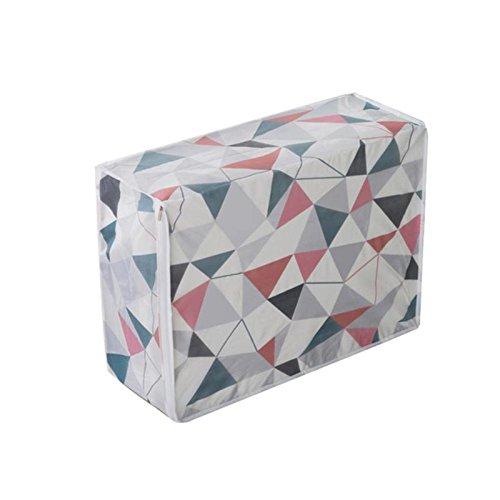 DFGY AufbewahrungsboxDrucken Sie Haushaltsbox Wasserdichte Kleidung Lagerkiste Unterwäsche BH-verpackung Make-up Kosmetik Reisebag
