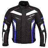 Detalles de Chaqueta Moto Hombre S tech Air Touring Negro Blanco 3 Capas 4 Temporadas