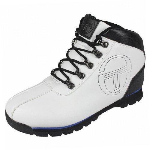 Sergio Tacchini - Chaussure Boots Quay Garçon Tendance Ecole Blanc / Noir / Bleu