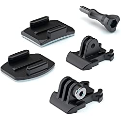 SP-Gadgets 53064 Accesorio para cámara de Deportes de acción Soporte para cámara - Accesorios para cámara de Deportes de acción (Soporte para cámara, Universal, Negro, Universal)