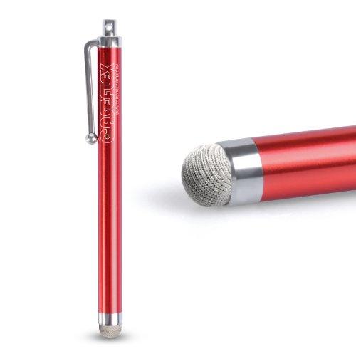 Caseflex iPad Air 2 Griffel Stift Mit Mikrofaser Spitze - Rot Pogo Ipad Stylus