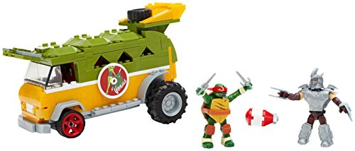 Mattel Mega Bloks DMX54 - Teenage Mutant Ninja Turtles Party Van