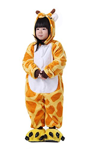 LATH.PIN Kind Kost¨¹m Fasching Halloween Sleepsuit Tier Karton Homeware Karneval Nachthemd Kinderparty (Kostüm Dame Nachthemd Alte)