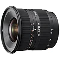 Sony DT 11–18mm f/4.5–5.6Aspherical ED objectif Super Grand Angle Zoom pour Sony Alpha Digital SLR Camera