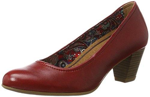 tamaris-damen-22408-pumps-rot-chili-533-37-eu