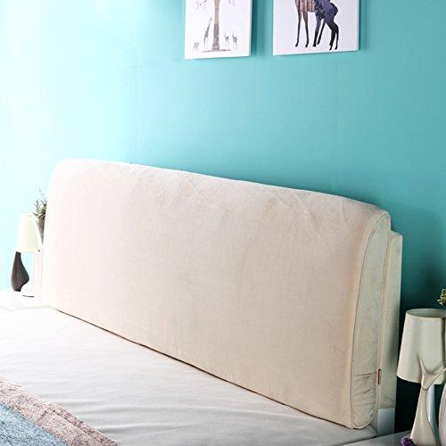 M-Y-S Multifunktionale Waschbare Matratze Stoff Kunst Bettdecke Doppelt Groß Mit Kopfteil/Keine Kopfteil 4 Farben 5 Größen (Farbe : 2#, größe : with headboard-120cm)