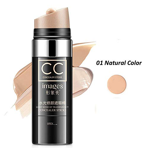 2019 Twist N Pinsel Concealer Stick, Gesicht Natürliche Luftkissen Feuchtigkeitsspendende Foundation Highlight Makeup Vertuschen Wasserdichte Whitening Concealer Stick (Natürlich) - Foundation Make-up Wasserdichte