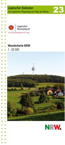 Lippischer Südosten, topographische Wanderkarte NRW: 1:25.000 - Topographische Wanderkarten