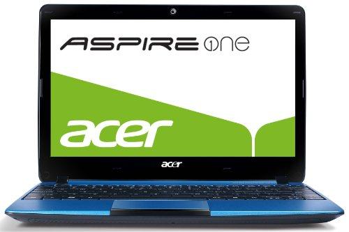 Acer Aspire One 722 29,5 cm (11,6 Zoll) Netbook (AMD C-60, 1GHz, 2GB RAM, 320GB HDD, ATI HD 6290, Bluetooth, Win 7 HP) blau