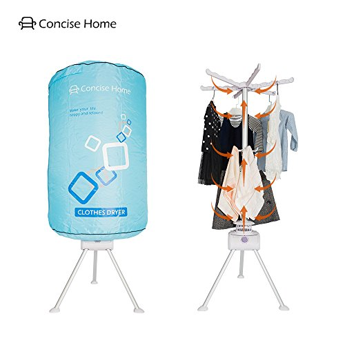 Concise Home mobiler Wäschetrockner Ballontrockner Hängetrocker Sanft wäschetrocknen Runde tragbar