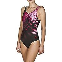 arena Damen Sport Badeanzug Plumage (Schnelltrocknend, UV-Schutz UPF 50+, Chlor- /Salzwasserbeständig)