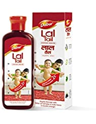Dabur Lal Tail - Ayurvedic Baby Oil - Clinically tested 2x faster physical growth - 500 ml