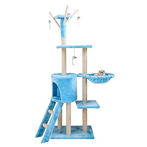 Albero di gatto centro attività arrampicata sisal cat jumping piattaforma grande gatto mensola lettiera una villa