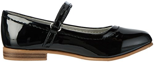 indigo by Clarks 424 079, Ballerines fille Schwarz (Black)