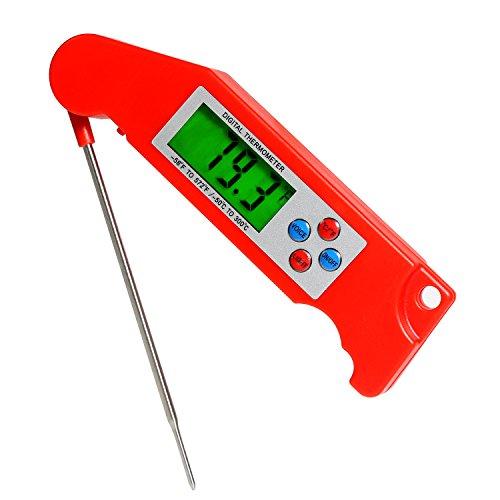 Lebensmittel-Thermometer Fleischthermometer Kochen Haushaltsthermometer Kochthermometer Küchenthermometer Einstichthermometer Digital Grill Food Fleisch Thermometer