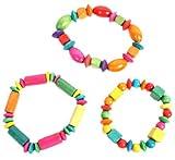Bijoux bracelet bois 16 cm jeux jouet 32121