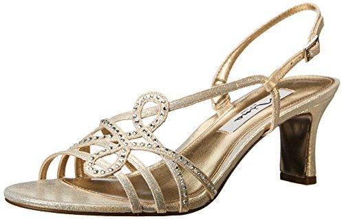 Nina Garland Textile Sandale Platino Reflect