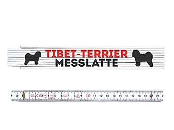 Mètre pliant tIBET metermaß toise chien échelle drole tERRIER