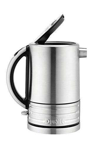 Dualit 72905 Architect Stainless Steel Kettle, 1.5L, Brushed Stainless Steel