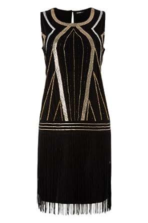 Roman Originals - Robe Style Art Déco Gatsby Années 20