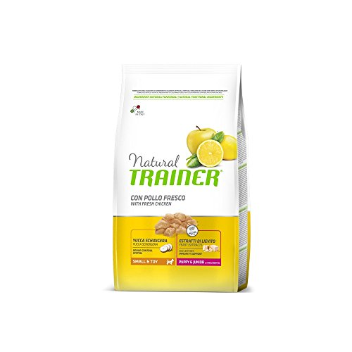 Trainer Natural Small Puppy Junior kg. 7 Cibo Secco per Cani, Multicolore, Unica