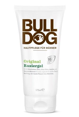 Bulldog Natural Skincare Original Rasiergel, 1er Pack (1 x 175 ml) - Lime Shaving Gel