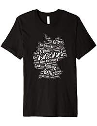 Deutschland T Shirt mit Bundesländer Geschenk