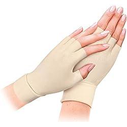 2pairs Arthritis Relief Handschuhe waschbar Nylon Spandex Anti Hand Compression Relief