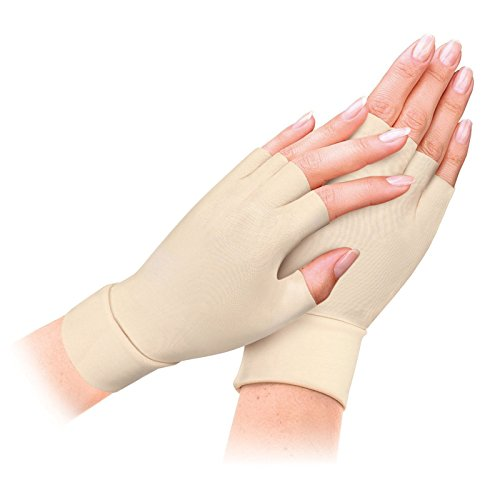 Anti-handschuh (2pairs Arthritis Relief Handschuhe waschbar Nylon Spandex Anti Hand Compression Relief)
