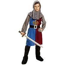 My Other Me - Disfraz para niño Caballero Medieval, 10-12 años, color azul y granate (Viving Costumes 201160)