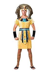 Bristol Novelty AF065 - Disfraz de faraón para hombre, multicolor, talla única