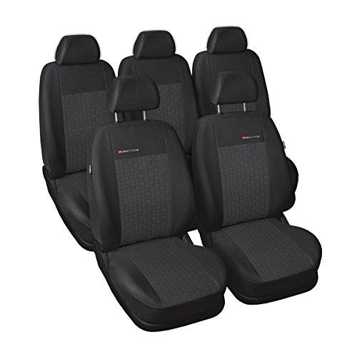 ELEGANCE (E1) (totalmente a medida) - Juego de fundas de asientos a: Peugeot 308 SW - (2007-2013)