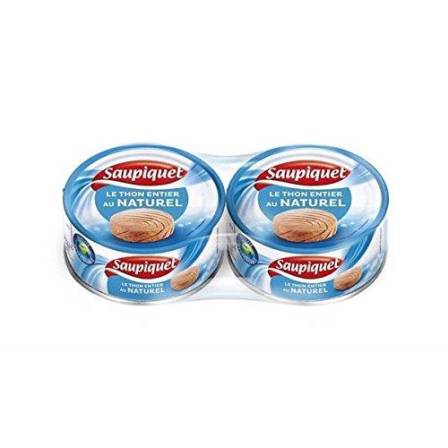 Saupiquet thon naturel 1/4 140g lot de 2 - ( Prix Unitaire ) - Envoi Rapide Et Soignée