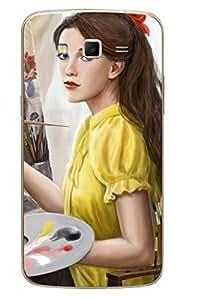 UPPER CASE™ Fashion Mobile Skin Vinyl Decal For Samsung Galaxy Grand 2(SM-G7102)