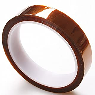 atoplee Hohe Temperatur hitzebeständig Kapton Tape Polyimid Film Klebeband 20mm*33m & 90mm*33m & 4mm*33m dunkelbraun